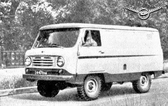 Опытный образец УАЗ-452
