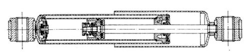 Телескопический 2-трубный амортизатор