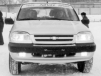 Крестоносцы. Тест-драйв Chevrolet Niva.