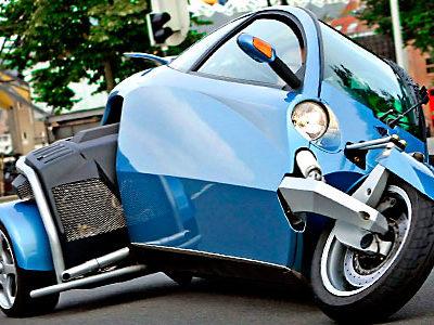 Резать угол автомобиль плюс мотоцикл Brink Dynamics Carver