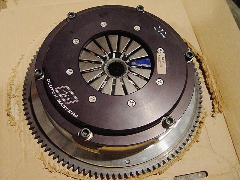 Керамическое 2-дисковое сцепление Master clutch system