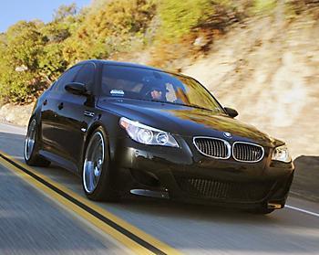 Под наддувом BMW M5