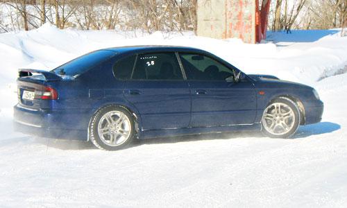Тест-драйв Subaru Legacy B4