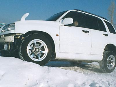 Тест-драйв Suzuki Escudo