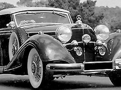 Дети смутного времени: Austin Seven и Mercedes SSK