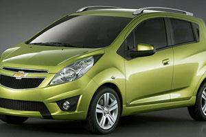 Chevrolet представляет Spark и Cruze