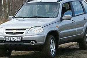 Рестайлинг Chevrolet Niva