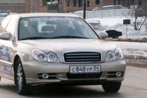 Патриотическая соната. Тест-драйв Hyundai Sonata GLS