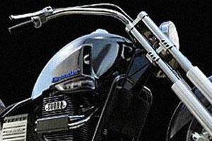 Дизелек мотоцикл на тяжелом топливе
