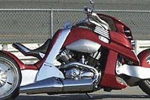 Вспомнить все, мотоцикл V-Rex