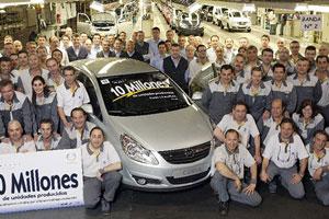 Десятимиллионный Opel