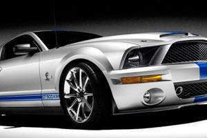 Король дорог Shelby Cobra GT500KR