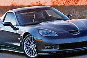 На всех парусах Chevrolet Corvette C6 ZR1