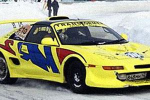 Желтый красавец Toyota MR2