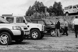 Тест-драйв Land Rover