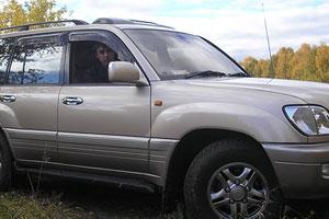 Тест-драйв Toyota Land Cruiser Cygnus