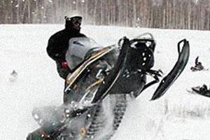 Кантри-кросс на снегоходах