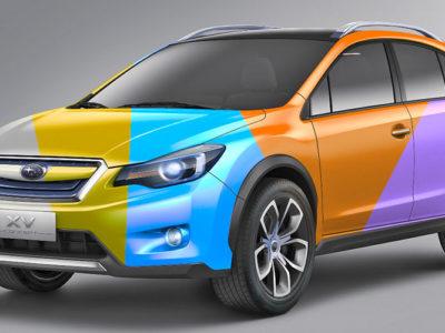 У каждого автомобиля свой цвет