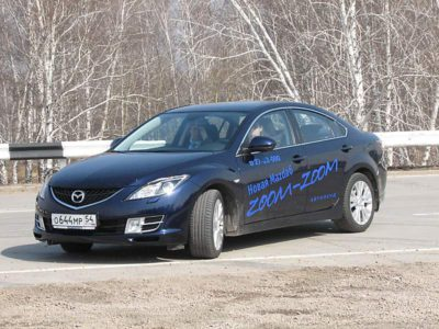Тест-драйв Mazda