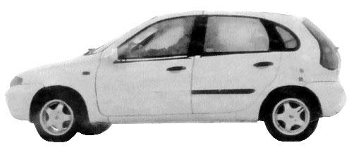Опытный образец ВАЗ-1119 GAMMA