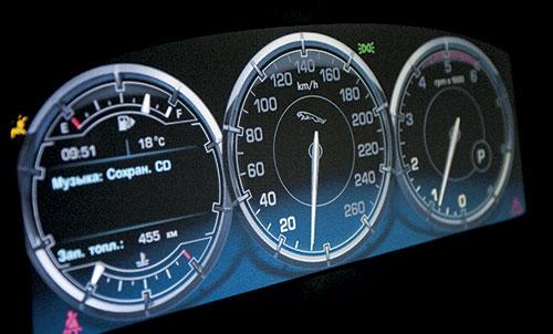 приборная панель Jaguar XJ