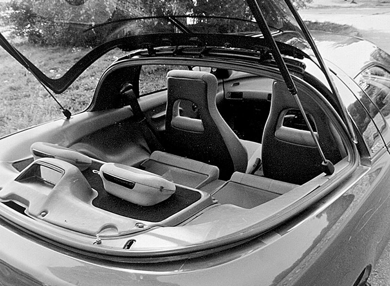 Багажник Toyota Sera
