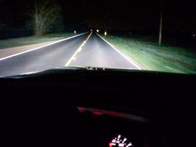 управления автомобилем при ограниченной видимости