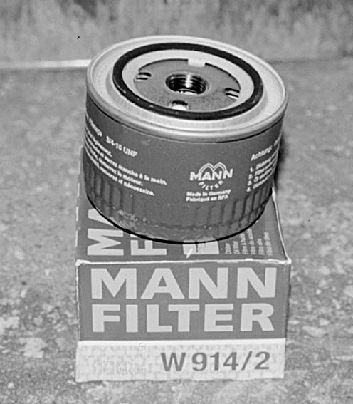 Масляный фильтр MANN Filter