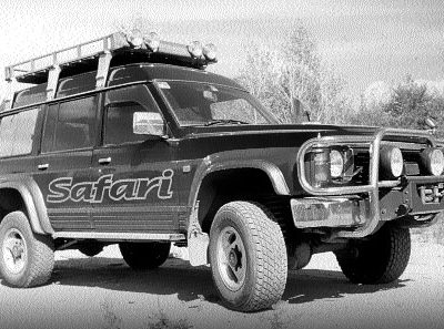 Тест-драйв NISSAN SAFARI