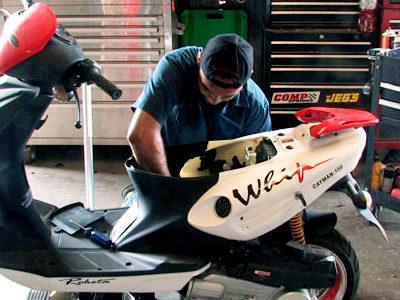 Сколько стоит ремонт и обслуживание японского скутера
